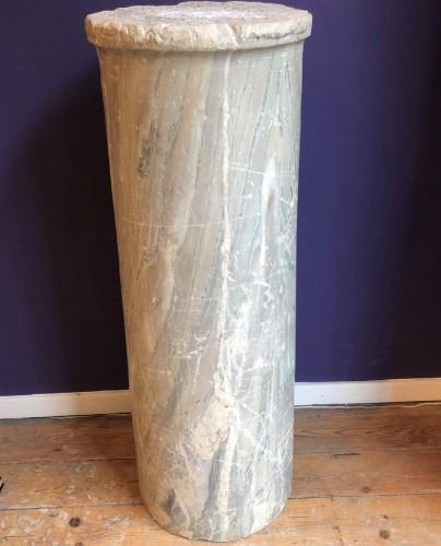 Roman Marble Column - Ancient Art Style
