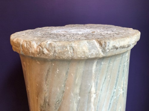 Ancient Art  - Roman Marble Column