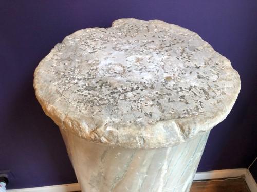 Roman Marble Column -