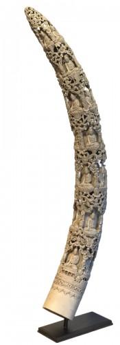 Ivory Burmese Sculpture