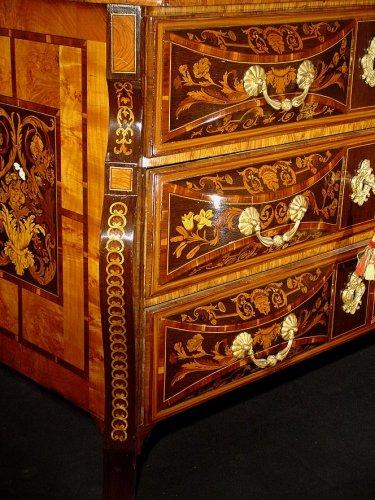 Antiquités - 17th c. louis xiv mazarine commode