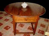 Round 19th century spanish table