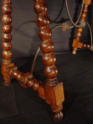 17th C. Spanish walnut console -