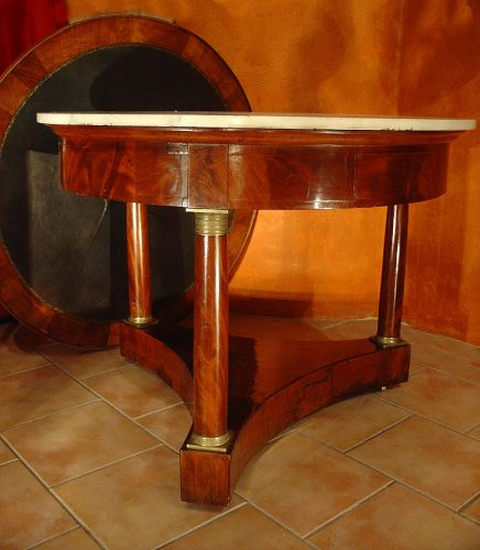 Empire 19th century center table - Furniture Style Empire