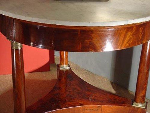 Furniture  - Empire 19th century center table