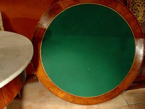 Empire 19th century center table -