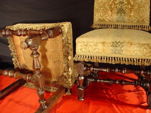 17th century - Four 17th century Louis XIV Chairs