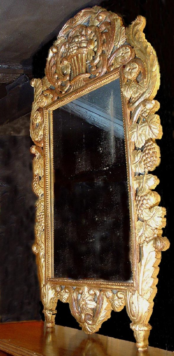 Large 18th Century Mirror Provence Ref 46011