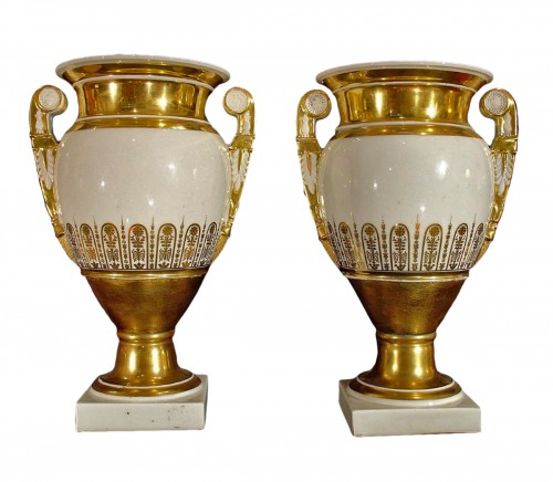 19th  Empire Vases