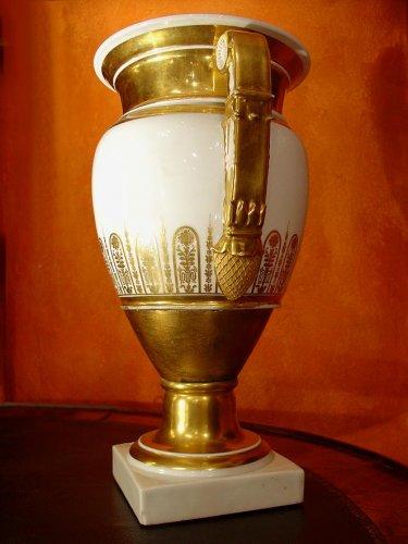19th  Empire Vases -