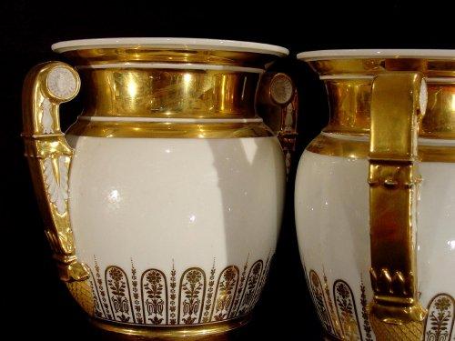 19th  Empire Vases - Empire