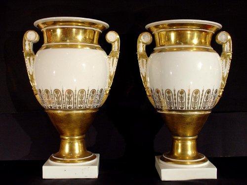 Empire - 19th  Empire Vases