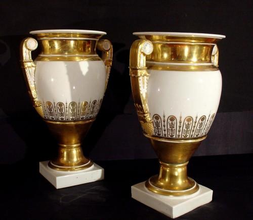Antiquités - 19th  Empire Vases