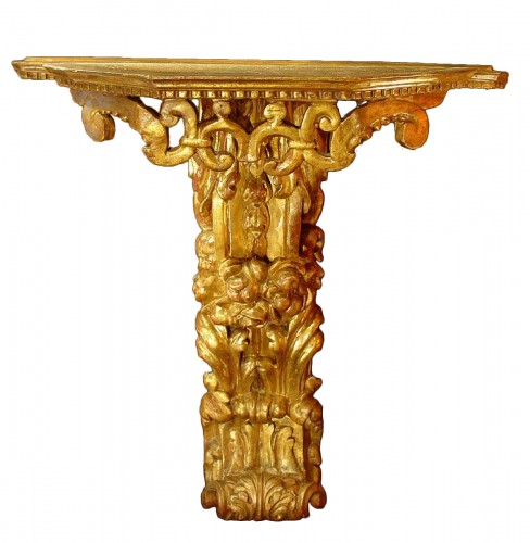 17th Giltwood  Console