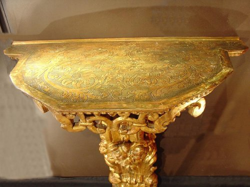 17th Giltwood  Console -