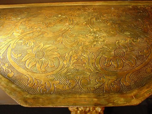 17th century - 17th Giltwood  Console