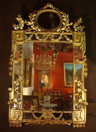Late18th century French Louis XVI Mirror