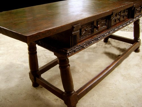 Large17th C. table console Spain -