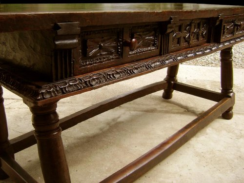 17th century - Large17th C. table console Spain