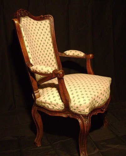 French Louis XV Armchair - Seating Style Louis XV