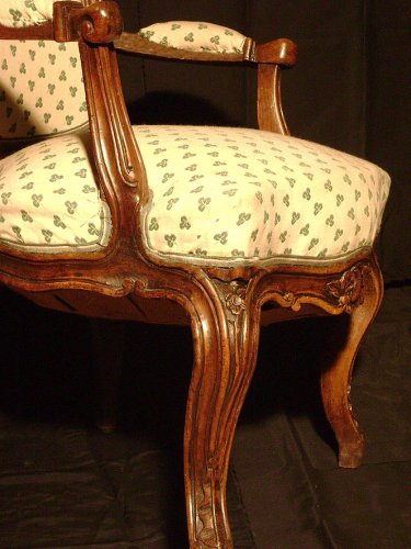French Louis XV Armchair - Louis XV