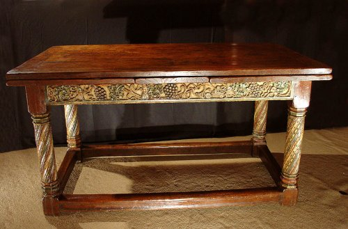 French 17th century Table, from Burgundy -
