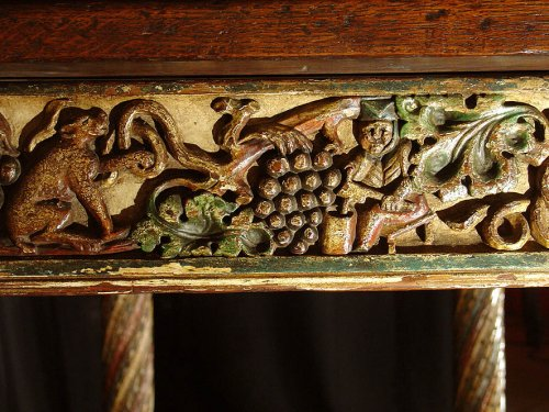17th century - French 17th century Table, from Burgundy