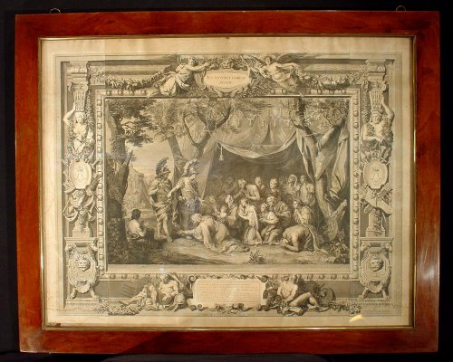18 th C. Engravings by Picart and Charles Le Brun - Engravings & Prints Style
