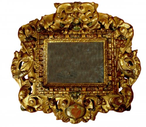 17th C spanish Mirror Baroque