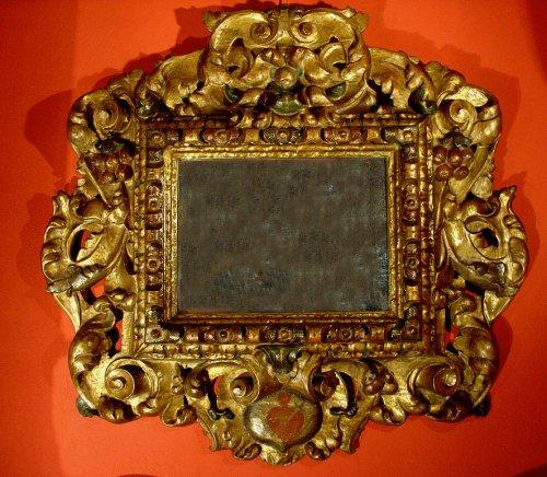 17th C spanish Mirror Baroque - Mirrors, Trumeau Style Louis XIII