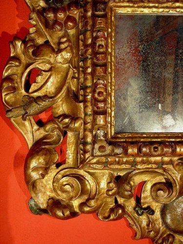 17th C spanish Mirror Baroque -