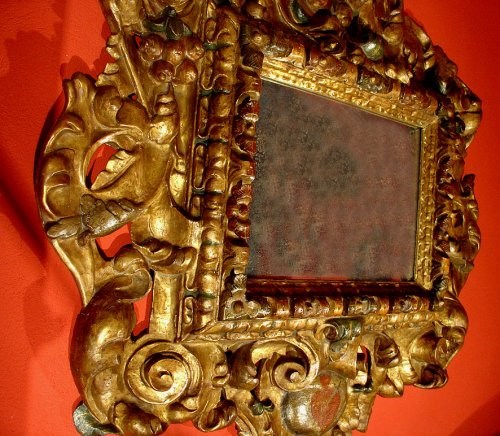 17th century - 17th C spanish Mirror Baroque