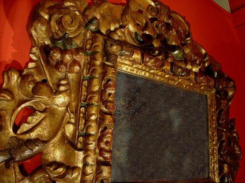 Louis XIII - 17th C spanish Mirror Baroque