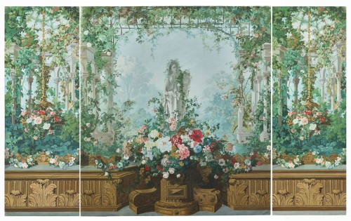 19th C French painting Panoramic