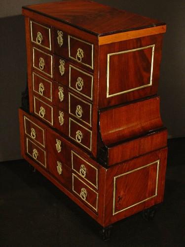 Small late 18th century  desk's cabinet  -