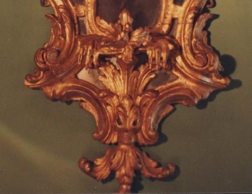 English George III mirror - Mirrors, Trumeau Style Louis XVI