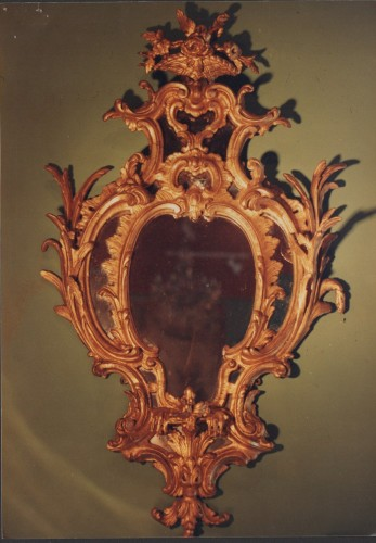 Miroir George III, Angleterre fin XVIIIe siècle - Antiques Provence
