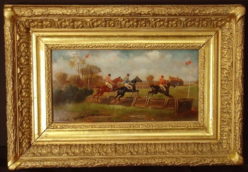 Pair of english Horses's paintings -