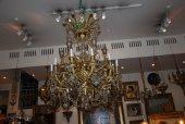 Large cristal chandelier of Napoleon III period