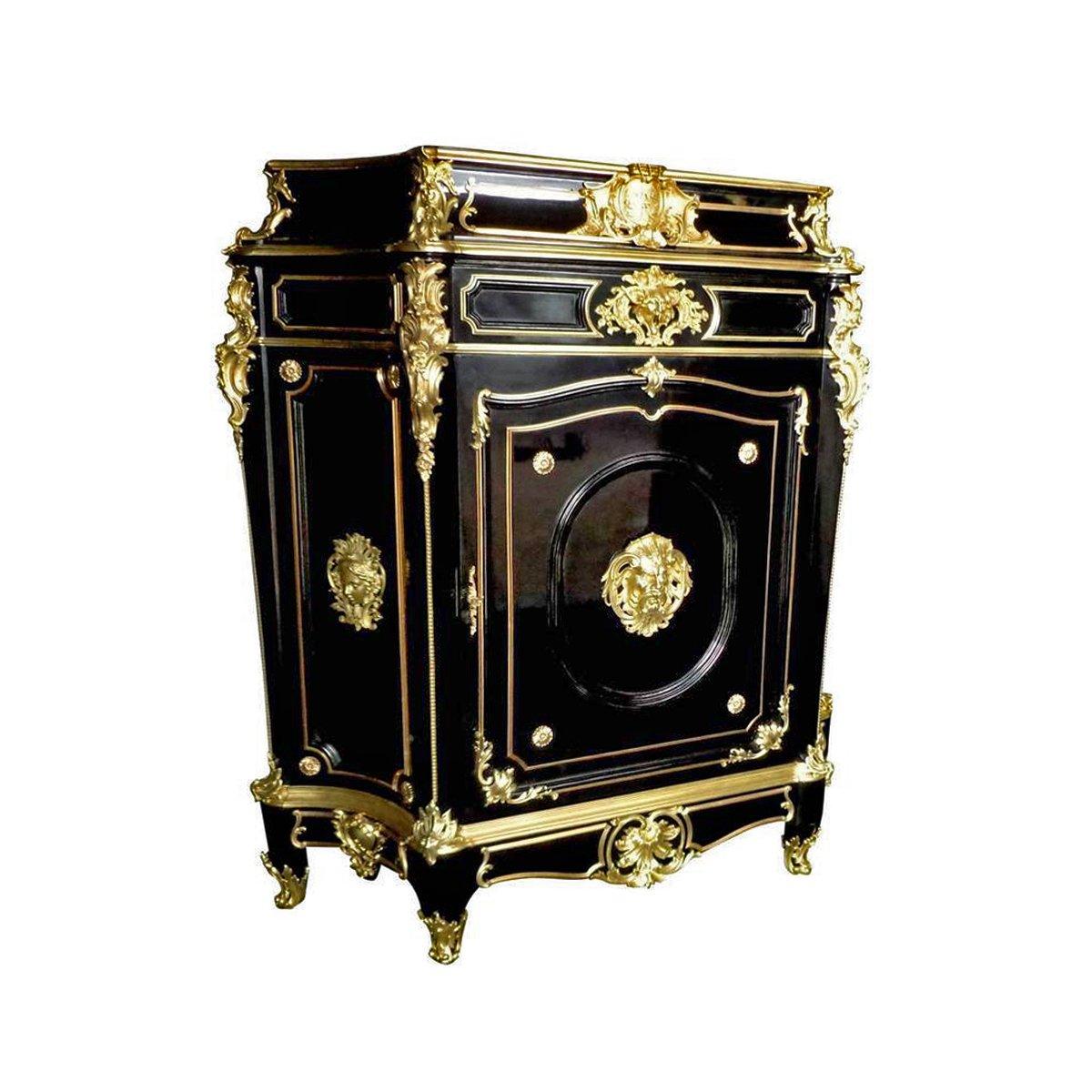 haut meuble d 39 entre deux boulle d 39 apr s b fort jeune poque napol on iii xixe si cle. Black Bedroom Furniture Sets. Home Design Ideas