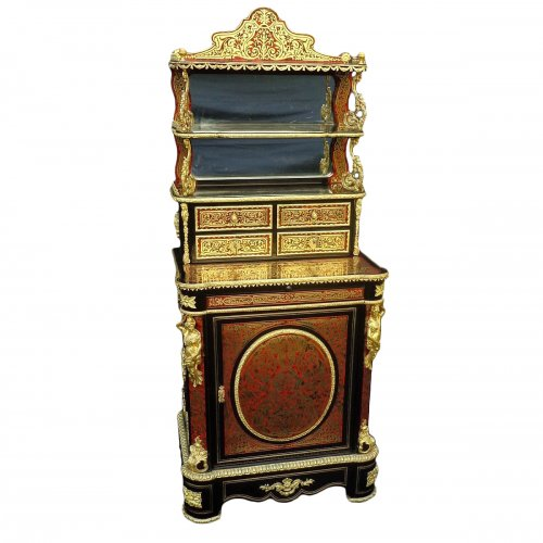 Napoleon III Cabinet in Boulle marquetry