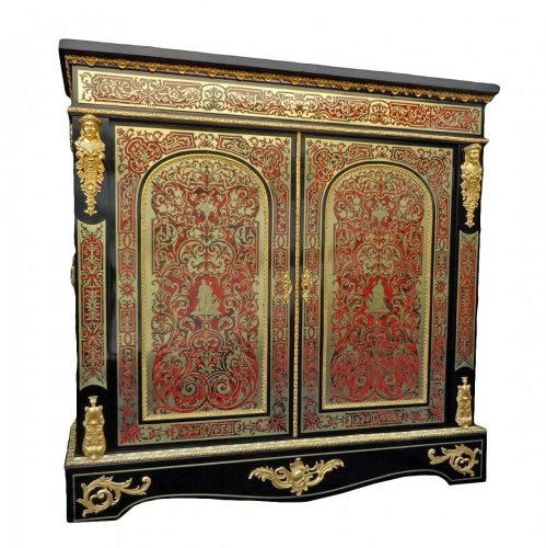 Furniture in Boulle marquetry, Napoleon III  period