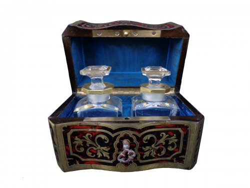 Fragrancy Box in Boulle marquetry 19th Century  Napoleon III Period