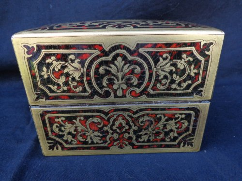 Fragrancy Box in Boulle marquetry 19th Century  Napoleon III Period -