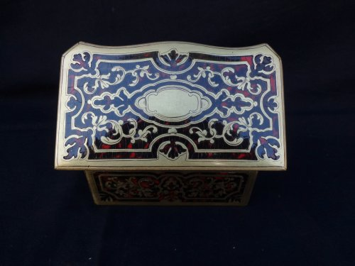 Fragrancy Box in Boulle marquetry 19th Century  Napoleon III Period - Napoléon III
