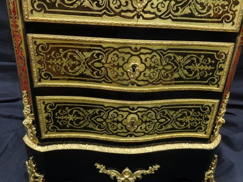 19th century Semainier in Boulle  style marquetry - Napoléon III