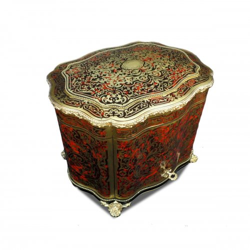 TNapoleon III antalus Box in Boulle marquetry