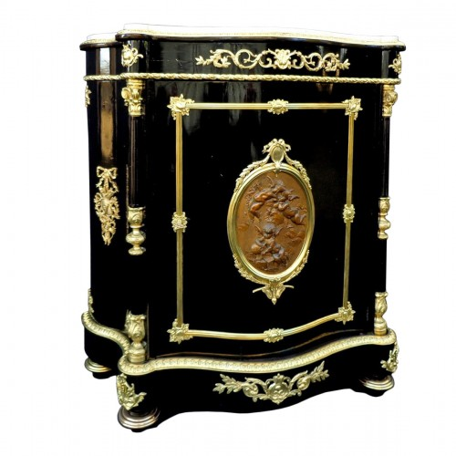 Cabinet stamped DIEHL Napoléon III 19th