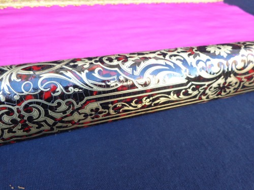 19th century - 19th century Boulle style marquetry Barrier for smoke