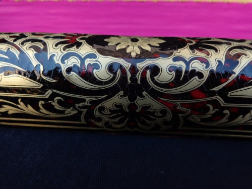 19th century Boulle style marquetry Barrier for smoke - Napoléon III